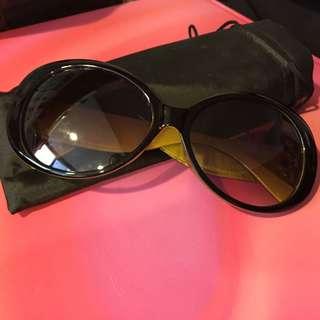 🚚 韓-黑色橄欖綠太陽眼鏡