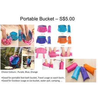 Portable Bucket for many usage