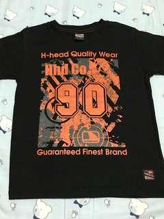 H-head Co. Black Shirt