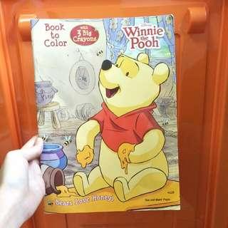 Winnie The Pooh Colouring Book BN