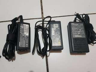 Assorted Laptop Adaptors & Powercords