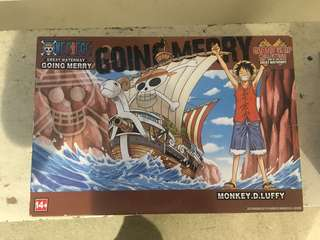 One Piece (Going merry) collections!