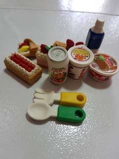 ASSORTED ERASERS