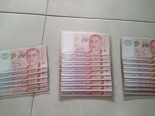 Singapore $10 golden number(25pic)