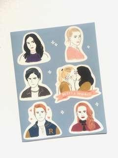 Riverdale Sticker Set