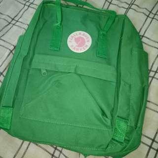 Kanken Green Backpack (Waterproof)