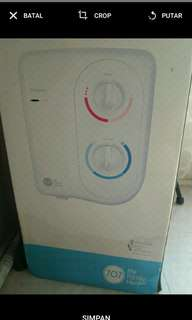Water heater merk compact