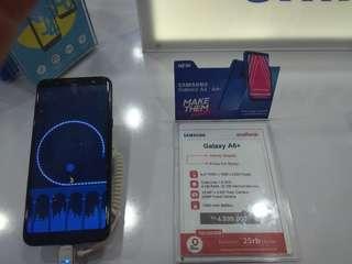 Samsung Galaxy A6+ bisa di cicil tanpa kartu kredit