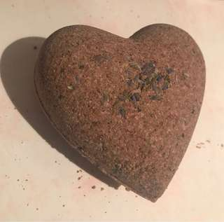 Customised bath bomb With Himalayan Pink Salt, Black seed, Lavender Seed and Oil & Coconut oil ;))