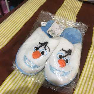 雪寶 室內拖鞋 保暖 毛絨