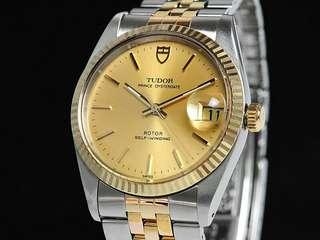 Wtb tudor prince self-winding watch ref 74033