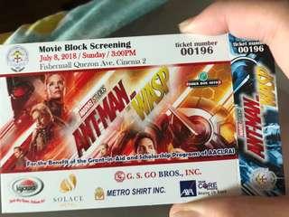 Ant-Man Premiere Block Screening