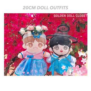 20CM Doll Outfits Set