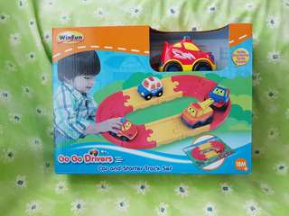 WinFun Car and Starter Track Set