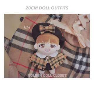 20Cm Doll Outfits Sets