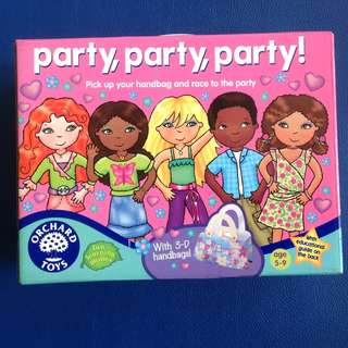 Party, party, party! girls board game