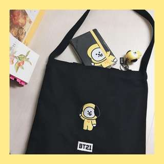 BTS BT21 Tote Bag (non-officials)