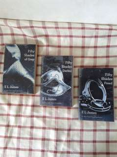 Fifty Shades of Gray Trilogy