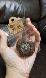 全新 泰國心形匙扣 handmade thailand
