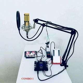 Karaoke and mic speaker