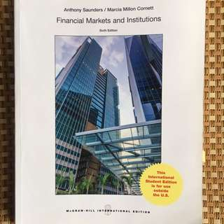 Financial Markets & Institutions