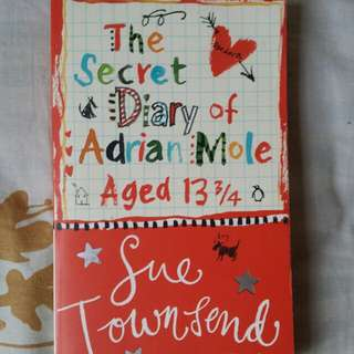 The Secret Diary Of Adrian More Aged 13 3/4 By Sue Townsend