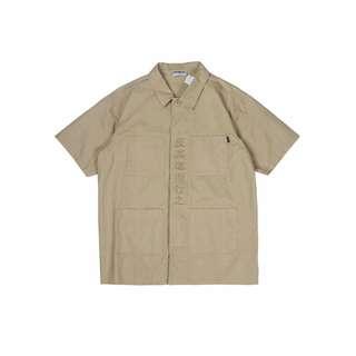 八折🔥四口袋卡其工裝短袖襯衫