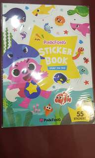 PinkFong stickers