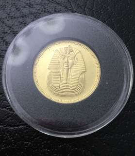 Egypt 1993 50 pounds gold coin