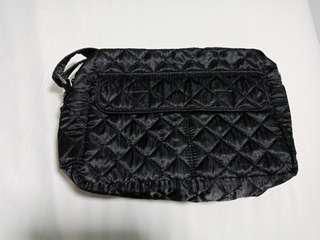 NaRaYa Satin Black Sling Bag - used