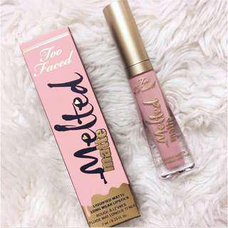 Too Faced Melted Matte Lipstick in Miso Pretty