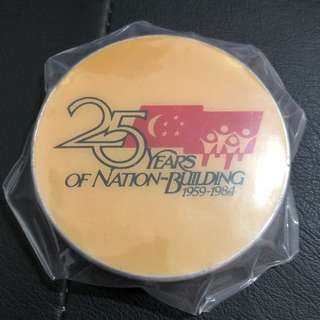 25 Years of National Building paper weight