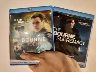 Bourne Series Bluray