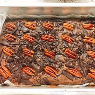 Rich & Bold Fudgy Brownies