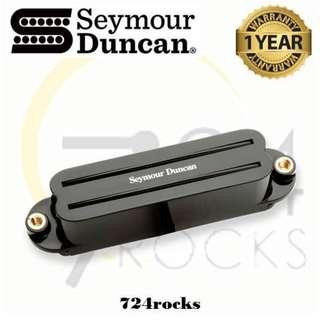 Seymour Duncan SHR-1N Hot Rails Strat Neck Single Coil Humbucker Pickup / Guitar Pickup