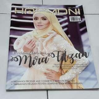 Majalah Harmoni 1 November 2016 - cover Mira Filzah