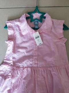 全新 Gap baby 粉紅洋裝