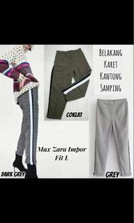 Grey panta