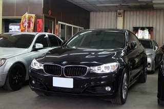 【阿彥嚴選認證車-Yencar】'2013 320i GT 黑、全景天窗、中古車、二手車、全額貸、車換車