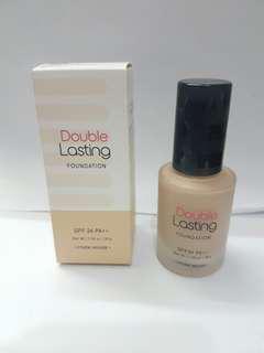 Etude house double lasting foundation spf 34 pa++ 30g tan