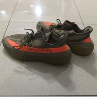 Yeezy sply boost 350 v2 beluga / grey orange