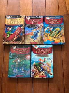 Geronimo Stilton Adventure Series