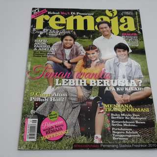 Majalah Remaja 15 Ogos 2010