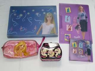 Assorted Barbie Products