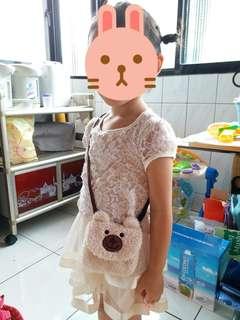 🚚 女童斜背包