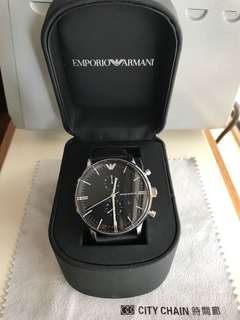 EMPORIO ARMANI watch with box