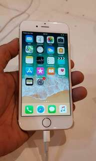 Iphone 6 32gb gold mulus dan fullset