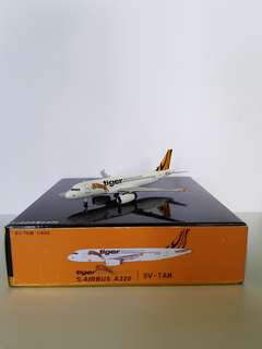 A320 Tiger Airways Scale 1:400