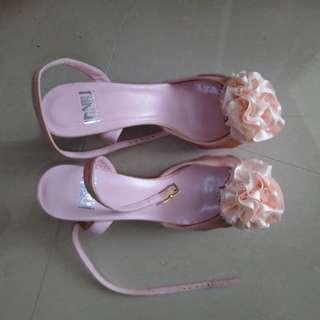 粉紅色花款