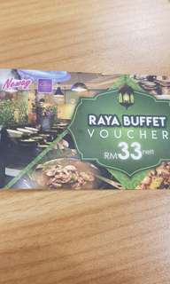 Neway Raya Buffet Tickets × 4